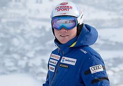 17.01.2017, Hahnenkamm, Kitzbühel, AUT, FIS Weltcup Ski Alpin, Kitzbuehel, Abfahrt, Herren, Streckenbesichtigung, im Bild Niels Hintermann (SUI) // Niels Hintermann of Switzerland during the course inspection for the men's downhill of FIS Ski Alpine World Cup at the Hahnenkamm in Kitzbühel, Austria on 2017/01/17. EXPA Pictures © 2017, PhotoCredit: EXPA/ Johann Groder