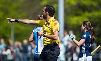 AMSTELVEEN - Hockey hoofdklasse dames Hurley-Pinoke (0-0). Pinoke degradeert. scheidsrechter Jacir Soares de Brito. COPYRIGHT KOEN SUYK
