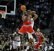 Joe Tait Night during the Chicago Bulls at Cleveland Cavaliers NBA game at Quicken Loans Arena on April 8, 2011,