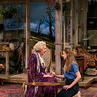 The Chalk Garden by Enid Bagnold;<br /> Directed by Alan Strachan;<br /> Penelope Keith (as Mrs St Maugham);<br /> Emma Curtis (as Laurel);<br /> Chichester Festival Theatre, Chichester.<br /> 30 May 2018<br /> © Pete Jones<br /> pete@pjproductions.co.uk