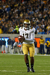 BERKELEY, CA - OCTOBER 06: Quarterback Brett Hundley #17 of the UCLA Bruins stands in the pocket against the California Golden Bears during the first quarter at California Memorial Stadium on October 6, 2012 in Berkeley, California. The California Golden Bears defeated the UCLA Bruins 43-17. (Photo by Jason O. Watson/Getty Images) *** Local Caption *** Brett Hundley
