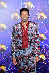 David James arriving at the red carpet launch of Strictly Come Dancing 2019, held at BBC TV Centre in London, UK.