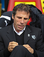 Picture by David Horn/Focus Images Ltd +44 7545 970036<br /> 28/09/2013<br /> Gianfranco Zola Manager of Watford during the Sky Bet Championship match at Vicarage Road, Watford.