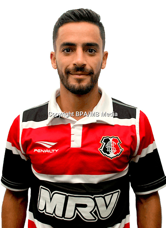 Brazilian Football League Serie B 2017 / <br /> ( Santa Cruz Futebol Clube ) - <br /> Gabriel Gustavo Valles