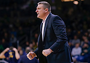 SOUTH BEND, IN - JANUARY 12: Head coach Jim Christian of the Boston College Eagles is seen during the game against the Notre Dame Fighting Irish at Purcell Pavilion on January 12, 2019 in South Bend, Indiana. (Photo by Michael Hickey/Getty Images) *** Local Caption *** Jim Christian