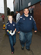 Dundee fans head for the game - Dundee v St Mirren, Clydesdale Bank Scottish Premier League at Rugby Park.. - © David Young - 5 Foundry Place - Monifieth - DD5 4BB - Telephone 07765 252616 - email: davidyoungphoto@gmail.com - web: www.davidyoungphoto.co.uk