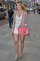 LONDON - June 013: Francesca Hull at Esprit Launch in Regent Street