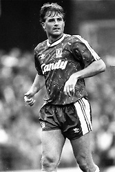 Glenn Hysen  Liverpool, Coventry City v Liverpool, Highfield Road,  1991