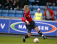 Fotball, 28. april 2004, Privatlandskamp, Norge-Russland 3-2, Morten Gamst Pedersen, Norge