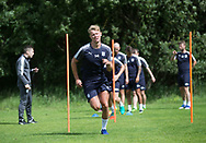 Dundee&rsquo;s Mark O&rsquo;Hara during the warm up - Dundee FC pre-season training at Michelin Grounds, Dundee, Photo: David Young<br /> <br />  - &copy; David Young - www.davidyoungphoto.co.uk - email: davidyoungphoto@gmail.com