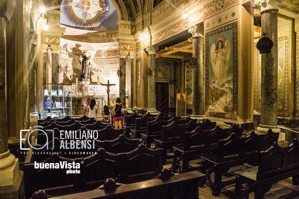 Favignana, Sicilia, Italia, 2016<br /> La chiesa di Sant'Antonio da Padova, a Favignana.<br /> <br /> Favignana, Sicily, Italy, 2016<br /> The Saint Anthony of Padua church in Favignana, Aegadian Islands.
