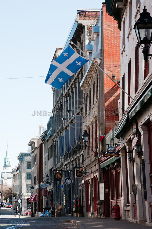 Saint Paul is Montreal's oldest street. (Quebec, Canada)