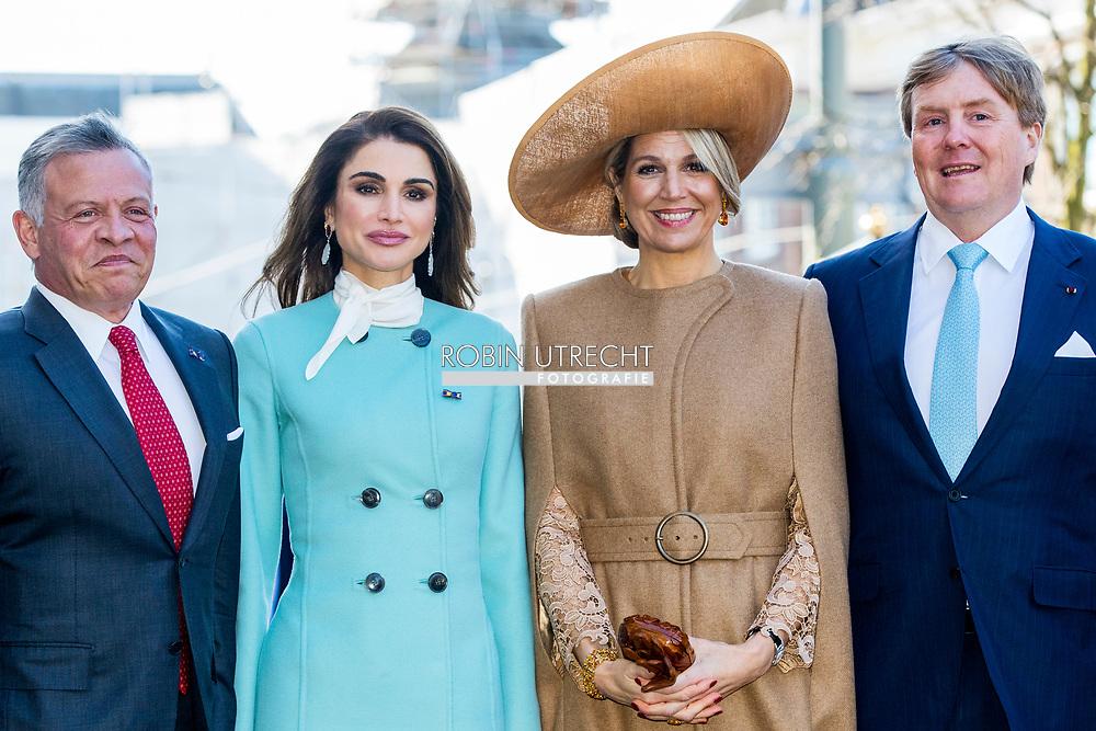 Официальный визит короля и королевы Иордании в Нидерланды.