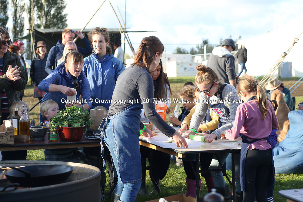 Good Life Experience Festival 2017. <br /> The Hawarden Estate.<br /> North Wales<br /> <br /> Photographer: Keith Freeburn