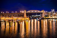 Burrard Bridge & False Creek, Vancouver