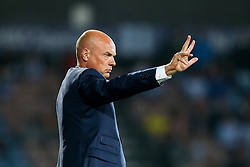 Manager Uwe Rosler of Wigan gestures - Photo mandatory by-line: Rogan Thomson/JMP - 07966 386802 - 16/09/2014 - SPORT - FOOTBALL - Huddersfield, England - The John Smith's Stadium - Huddersfield Town v Wigan Athletic - Sky Bet Championship.