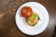 Beef brisket burger by Uwe Opocensky / Beef & Liberty<br />