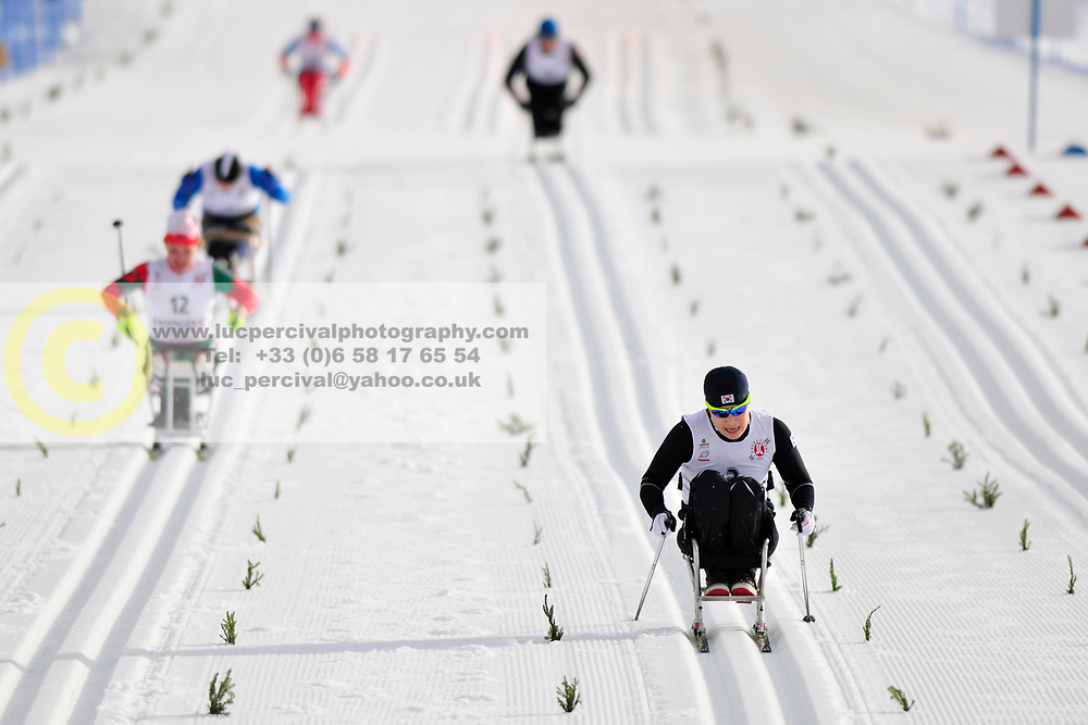 SEO Vo-Ra-Mi, KOR at the 2014 IPC Nordic Skiing World Cup Finals - Middle Distance