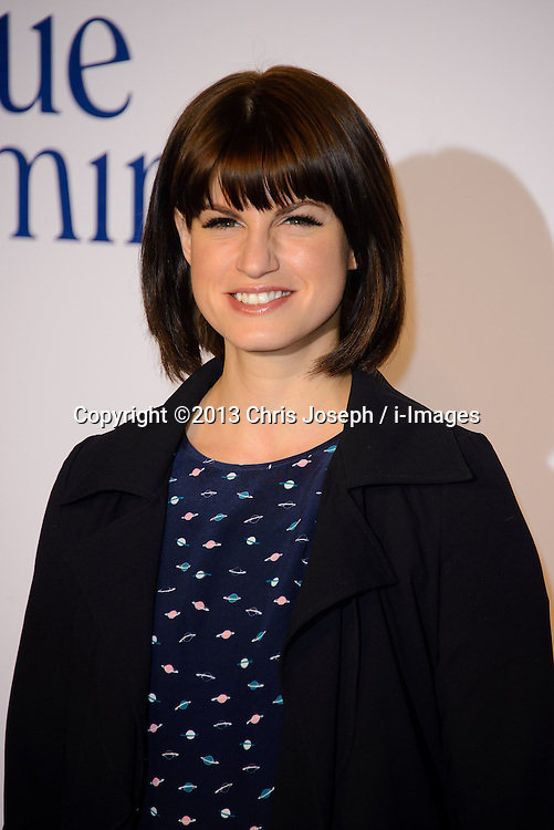 Blue Jasmine - UK film premiere. <br /> Jemima Rooper arrives for the Blue Jasmine film premiere, Odeon, London, United Kingdom. Tuesday, 17th September 2013. Picture by Chris Joseph / i-Images