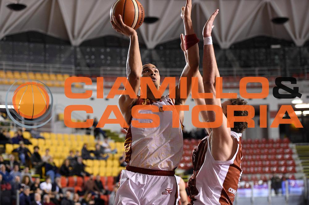 Daniele Sandri<br /> Unicusano Roma - Lighthouse Trapani<br /> Campionato Basket LNP 2016/2017<br /> Roma 08/12/2016<br /> Foto Ciamillo-Castoria