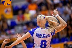 24-08-2017 NED: World Qualifications Netherlands - Czech Republic, Rotterdam<br /> Barbora Purchartova #8 of Czech Republic