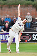 Craig Overton of Somerset bowling during the Specsavers County Champ Div 1 match between Somerset County Cricket Club and Middlesex County Cricket Club at the Cooper Associates County Ground, Taunton, United Kingdom on 27 September 2017. Photo by Graham Hunt.