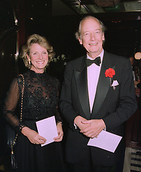 LADY (CAROLINE) MacPHAIL and VISCOUNT MARCHWOOD, at a party in London on 9th October 1997.MBZ 17
