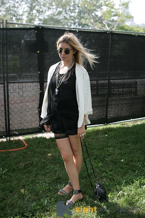 CHICAGO, IL - AUGUST 8: Lykke Li backstage at 2009 Lollapalooza Music Festival on August 8, 2009 in Grant Park, Chicago, Illinois. Photo by Bryan Rinnert/3Sight Photography