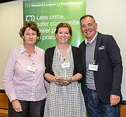 Surry Youth Restorative Intervention, Surrey Youth Support Service and Surrey Police, Policing and adults WINNER in the restorative justice category with Professor David Wilson. The Howard League for Penal reform's Community Awards 2015 The Kings Fund, London, UK. All use must be credited © prisonimage.org