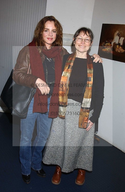 """Left to right, actress STOCKARD CHANNING and SUNNY JACOBS at an after show party for """"The Exonerated"""" at The Riverside Studios, Crisp Road, Hammersmith, London on 24th February 2006.<br /><br />NON EXCLUSIVE - WORLD RIGHTS"""