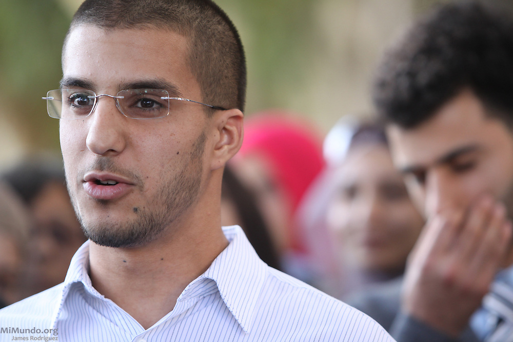 Asaad Traina, one of the ten Muslim students from the University of California, Irvine, guilty of disrupting a February 2010 speech at the university's campus by Michael Oren, Israeli ambassador to the United States. Orange County Superior Court Judge Peter Wilson sentenced each student to three years of probation, 56 hours of community service, and ordered each to pay $270 in fines.