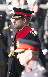 Prinz Harry beim Remembrance Sunday in London / 131116 *** Remembrance Sunday, London, 13 Nov 2016 ***