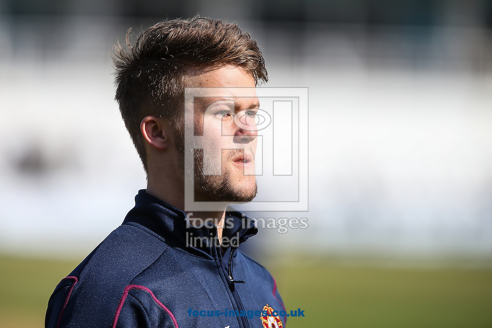 Ben Duckett of Northamptonshire County Cricket Club  during the LV County Championship Div Two match at the County Ground, Northampton, Northampton<br /> Picture by Andy Kearns/Focus Images Ltd 0781 864 4264<br /> 12/04/2015