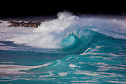 Wave, Waimea, North Shore, Oahu, Hawaii