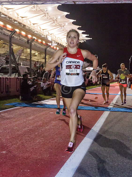 Beer Mile World Championships, Inaugural, Women's Elite race, Kristy Jahn Smith