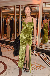 Eliza Cummings at The Cartier Racing Awards 2018 held at The Dorchester, Park Lane, England. 13 November 2018. <br /> <br /> ***For fees please contact us prior to publication***