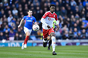 Clarke Oduor (22) of Barnsley during the The FA Cup match between Portsmouth and Barnsley at Fratton Park, Portsmouth, England on 25 January 2020.
