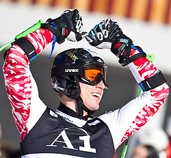 06.02.2011, Hannes-Trinkl-Strecke, Hinterstoder, AUT, FIS World Cup Ski Alpin, Men, Hinterstoder, Riesentorlauf, im Bild Hannes Reichelt (AUT) // Hannes Reichelt (AUT) during FIS World Cup Ski Alpin, Men, Giant Slalom in Hinterstoder, Austria, February 06, 2011, EXPA Pictures © 2011, PhotoCredit: EXPA/ J. Feichter