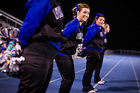 Felicia Pollos on the sidelines with her fellow Coeur d'Alene High Viking cheerleaders