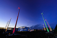 Newley installed windfarm
