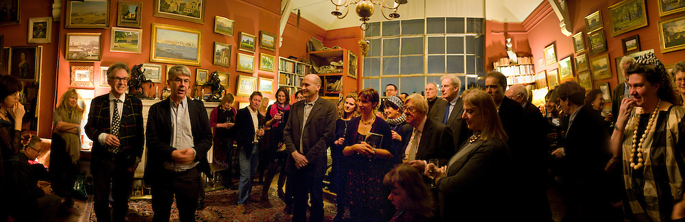 Mary Killen; DAN FRANKLIN; ANDREW BARROW; Marquess of Normanby; Min Hogg; Annabel  Freyberg, , Party to celebrate the publication of Animal Magic by Andrew Barrow. Tite St. London. 28 February 2011