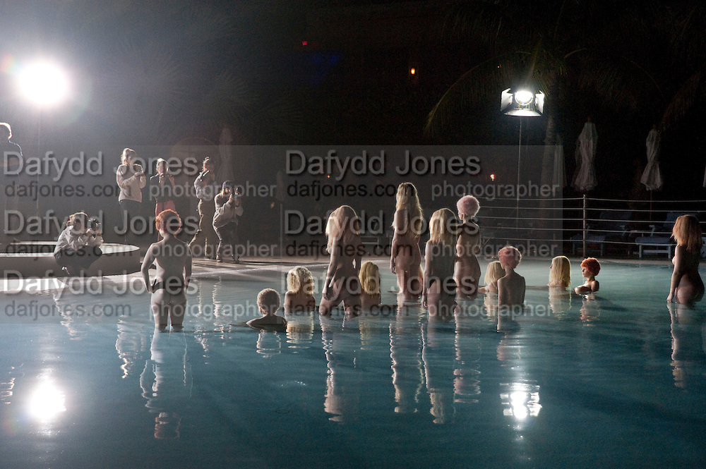"VANESSA BEECHCROFT PHOTOGRAPHING HER MODELS , Neville Wakefield and Playboy host ÒNude as MuseÓ evening art salon. Standard Hotel.  Miami. 4 December 2010. -DO NOT ARCHIVE-© Copyright Photograph by Dafydd Jones. 248 Clapham Rd. London SW9 0PZ. Tel 0207 820 0771. www.dafjones.com.<br /> VANESSA BEECHCROFT PHOTOGRAPHING HER MODELS , Neville Wakefield and Playboy host ""Nude as Muse"" evening art salon. Standard Hotel.  Miami. 4 December 2010. -DO NOT ARCHIVE-© Copyright Photograph by Dafydd Jones. 248 Clapham Rd. London SW9 0PZ. Tel 0207 820 0771. www.dafjones.com."