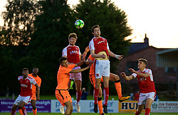 LEYLAND, ENGLAND - Friday, September 1, 2017: Liverpool's Paul Alves during the Lancashire Senior Cup Final match between Fleetwood Town and Liverpool Under-23's at the County Ground. (Pic by Propaganda)
