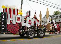 Laconia Homecoming parade.  Karen Bobotas for the Laconia Daily Sun
