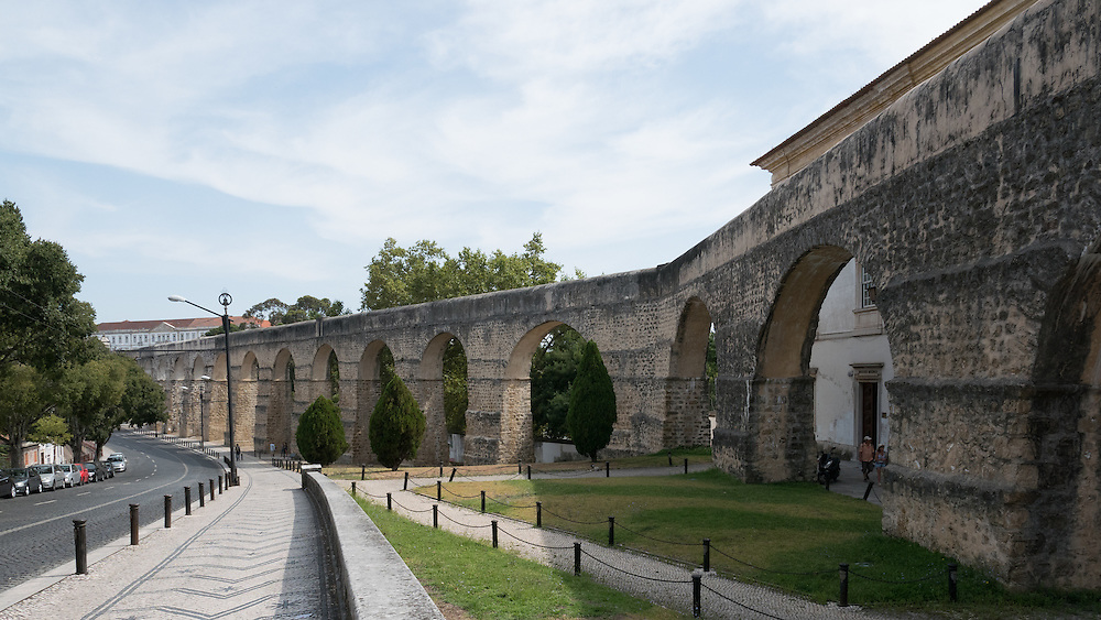The Aqueduct of St. Sebastian in Coimbra has its name because at the end of sixteenth century, an ancient Roman aqueduct that supplied most of the city was rebuilt during the reign of King Sebastian.