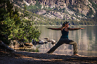 I found I had a free morning and was up early so I headed to Jenny Lake in the Tetons and enjoyed some morning yoga and breakfast before the trails started to get full of hikers. Mornings are always so calm and peacefull if you take advantage of them!