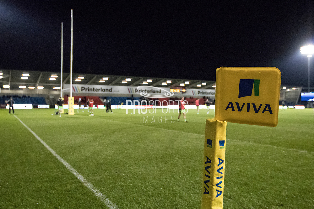 Match day during the Aviva Premiership match between Sale Sharks and Northampton Saints at the AJ Bell Stadium, Eccles, United Kingdom on 25 November 2017. Photo by George Franks.