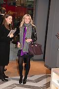 JENNY HALPERN, Smythson Sloane St. Store opening. London. 6 February 2012.