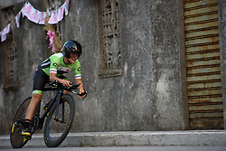 Valentina Scandolara (Cylance Pro Cycling) at Giro Rosa 2016 - Prologue. A 2 km individual time trial in Gaiarine, Italy on July 1st 2016.