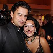 NLD/Amsterdam/20070910 - Voorpremiere Sextet, Wilfred Genee en partner Lili Pirayesh